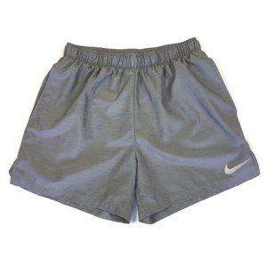 Nike Men's Shorts Large Gray Athletic